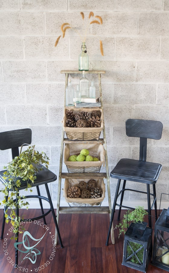 wire-basket-ladder-repurposed-leaning-home-decor-storage-2