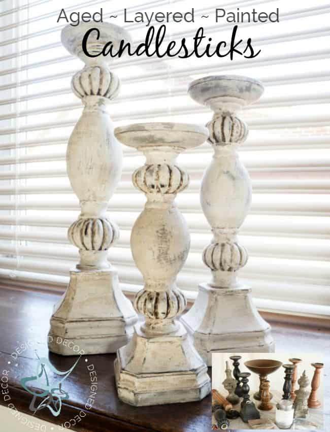 diy-aged-layered-painted-candlesticks