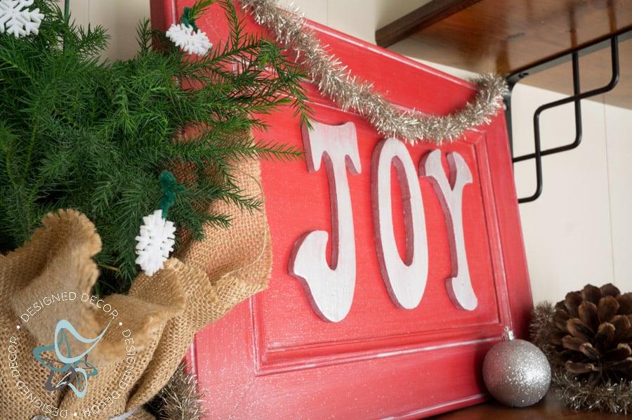 Joy Holiday Sign