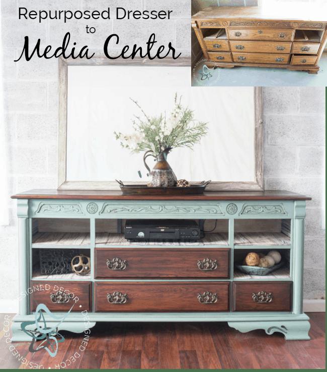 repurposed-dresser-to-media-center