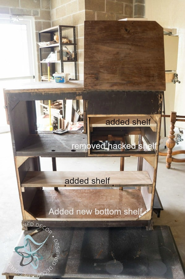 repurposed-radio-cabinet-coffee-bar-drink-station-adding-shelves