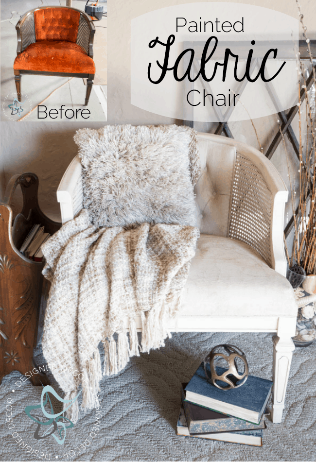 Painted-Fabric-Chair- Heirloom Traditions - FAB
