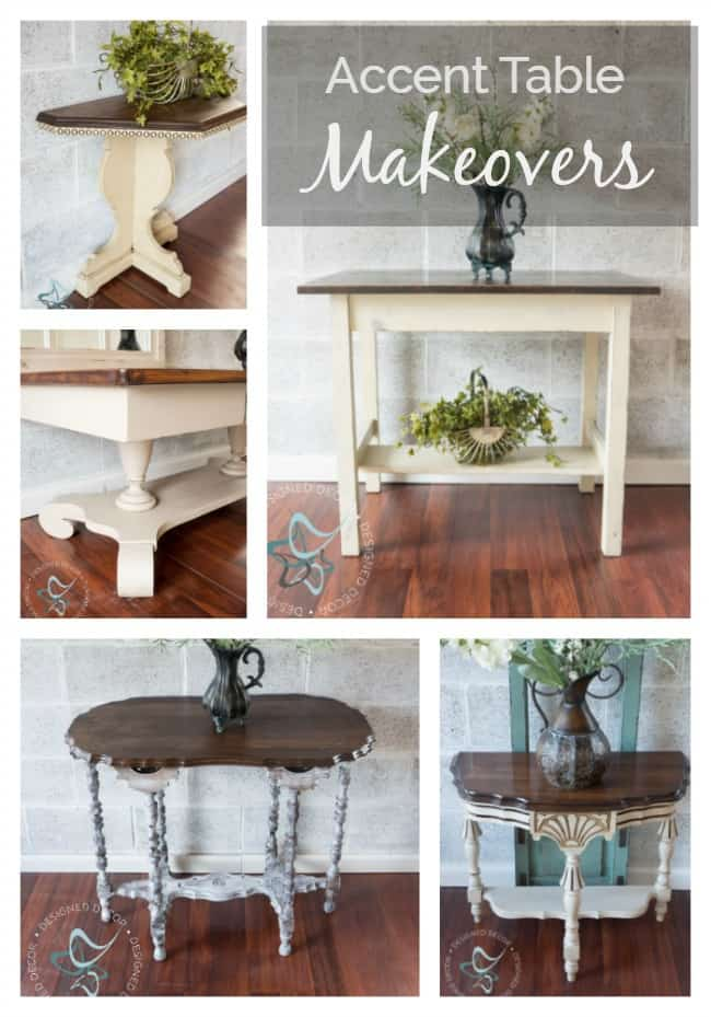 Accent Table Makeovers