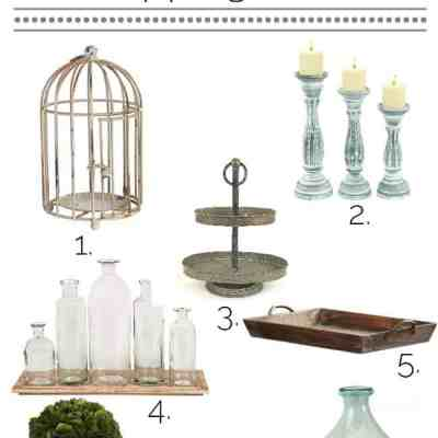 Spring Table Decor ~ Under $50!