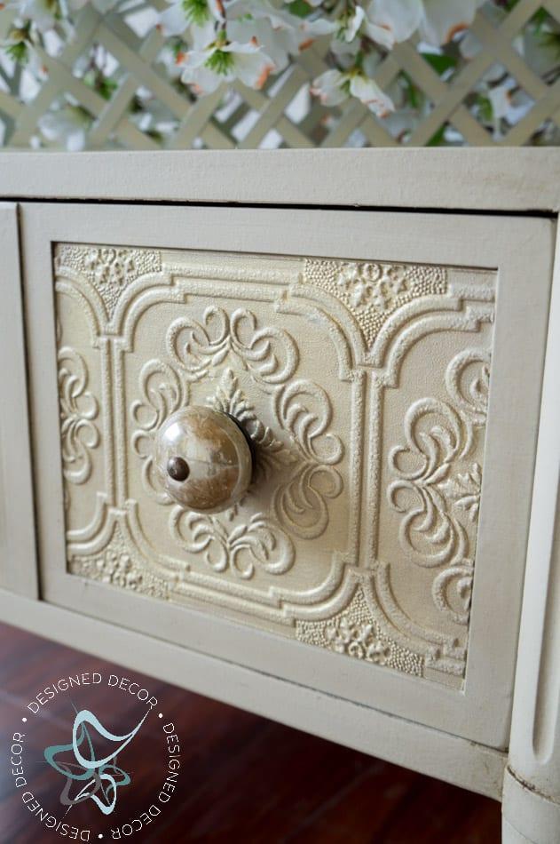 Textured Wallpaper Furniture Designed Decor