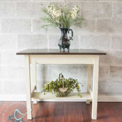 Accent Table Makeovers!