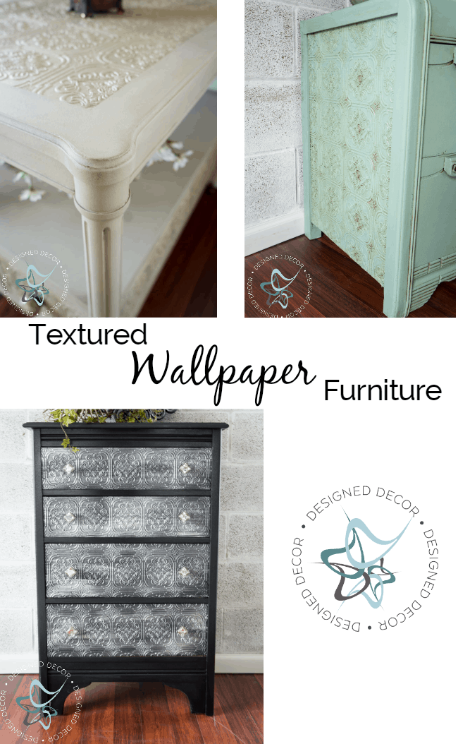 textured wallpaper furniture