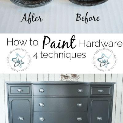 How to Paint Hardware