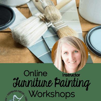 Online Furniture Painting Workshops!