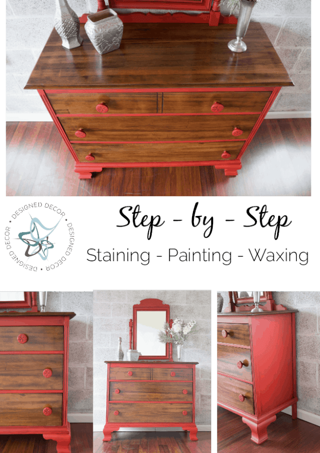 how to paint furniture graphic