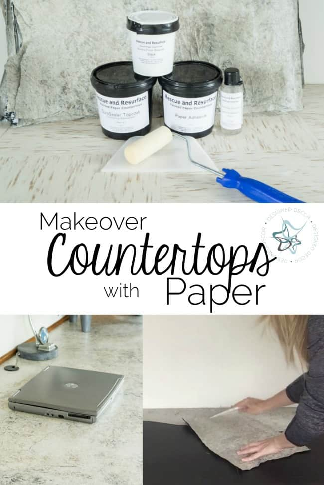 I Have Discovered An Affordable Way To Use Those Existing Countertops And  Just Cover Them With Paper, Yes Paper. I Am Talking About Using Rescue U0026  Resurface ...