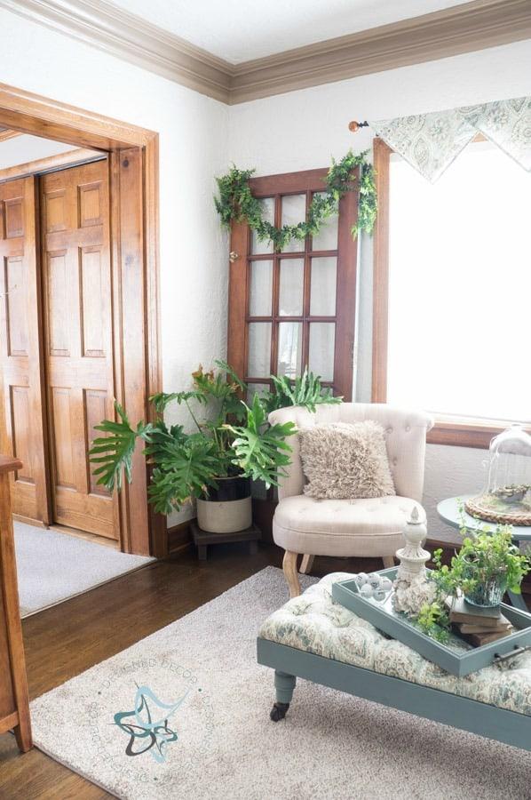 Affordable Room Makeover Den Reveal Designed Decor