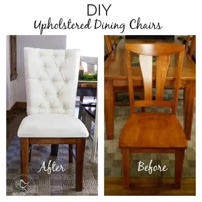 Free Kitchen Tufted Dining Bench With Back Ideas With: Upholstered Wood Dining Chairs ~- Designed Decor