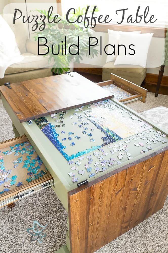 Puzzle Coffee Table Build Plans ~- Designed Decor on Coffee Table Plans  id=99754