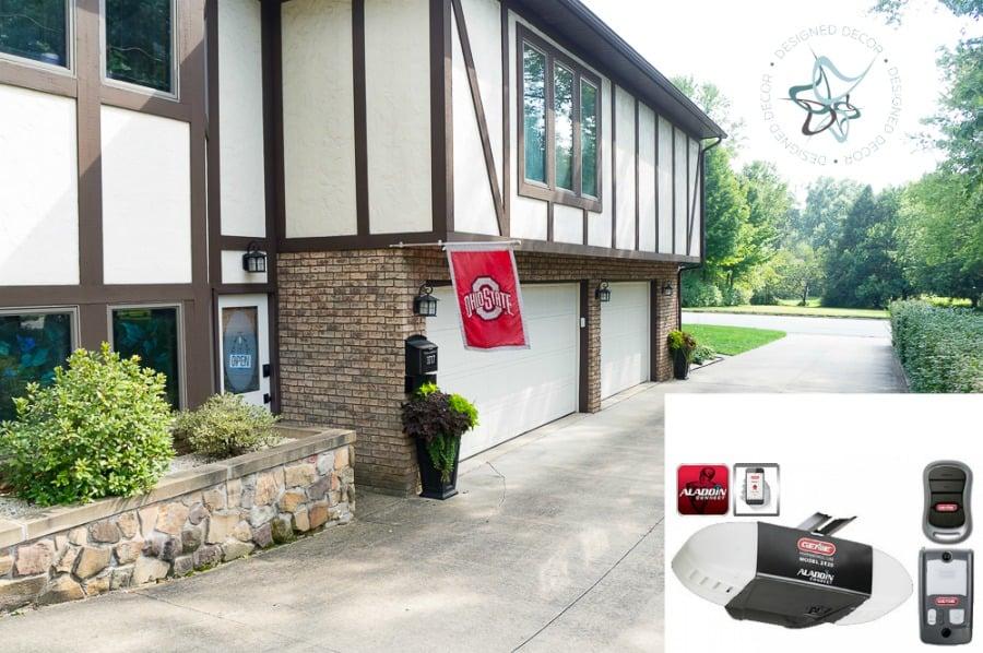 We Choose The Genie Model 3120 For The Lower Garage Door.