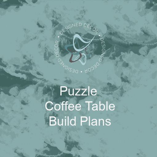 DIY- Jigsaw Puzzle Table Build plans