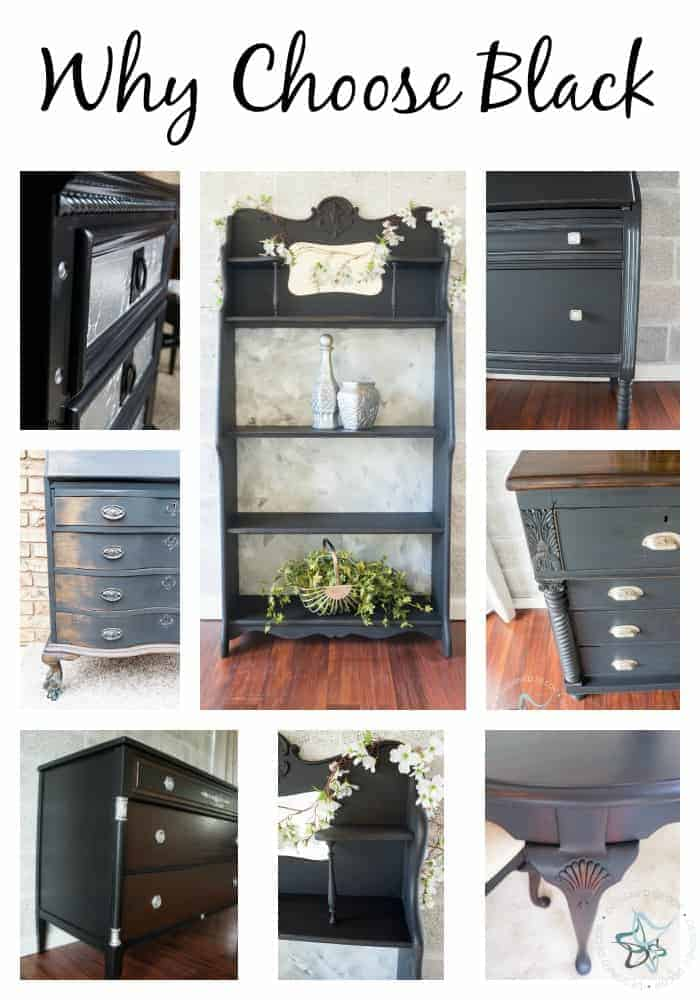 Black Paint Can Make A Simple Update To, Is Painted Furniture Going Out Of Style