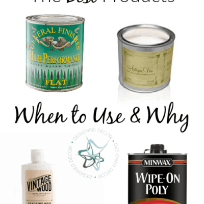 How to Seal Furniture with the Best Products