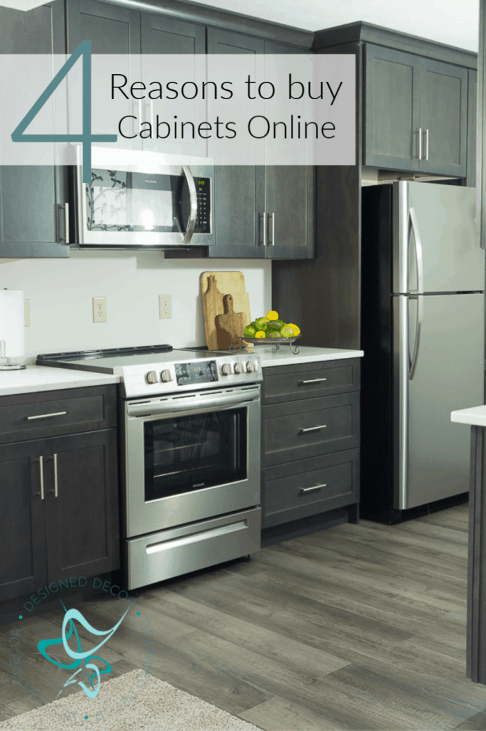 Buying Kitchen Cabinets online for the Guest Suite ...