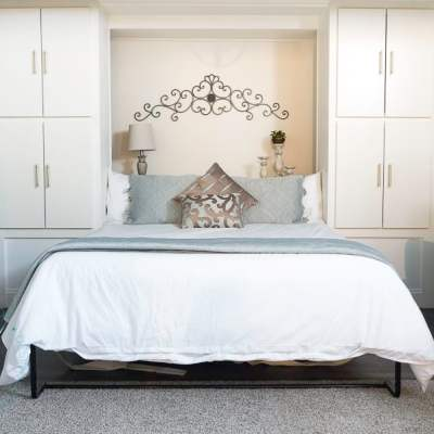 Building a Murphy Bed ~ Space Saver and a Perfect Way to get Additional Sleeping