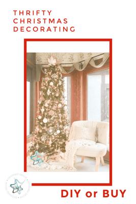 Thrifty Christmas Tree Decorating