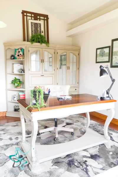 Amazing Budget Friendly Home Office Makeover