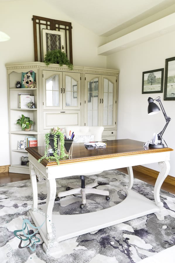 Image of a Budget Friendly Home Office Makeover