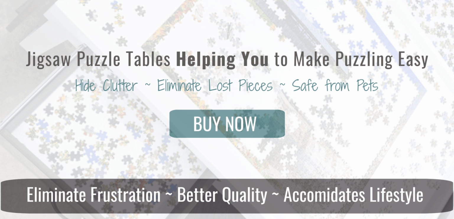 Jigsaw Puzzle Table- helping you to make jigsaw puzzles easy