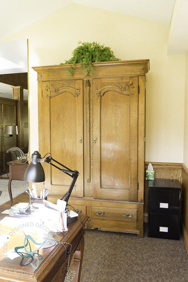 1800's Wardrobe Armoire