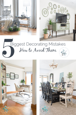 Image of the 5 biggest decorating mistakes