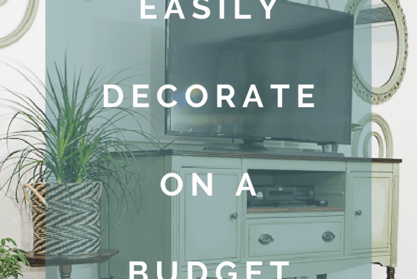 easy budget decorating