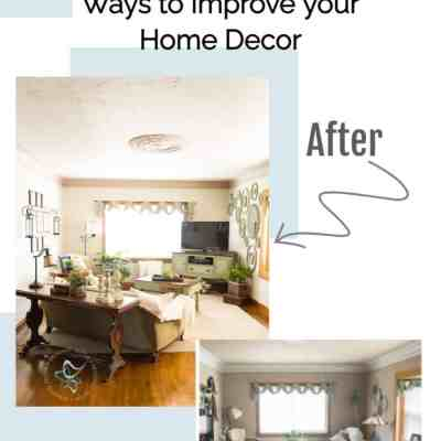 6 budget friendly ways to improve your home decorating