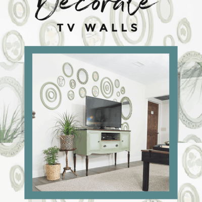 5 easy ways to decorate a TV wall