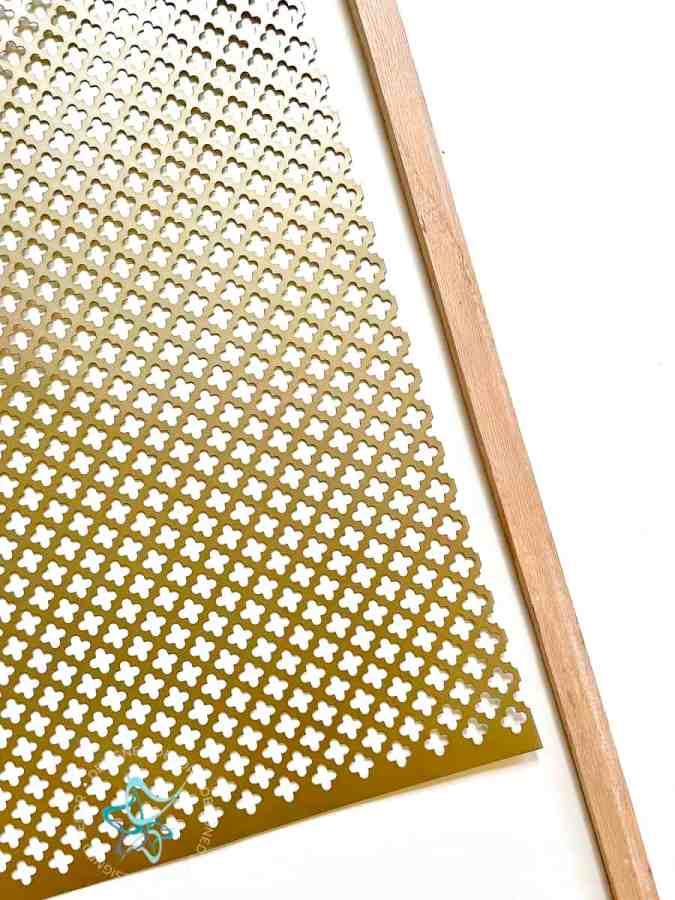 gold decorative metal sheet