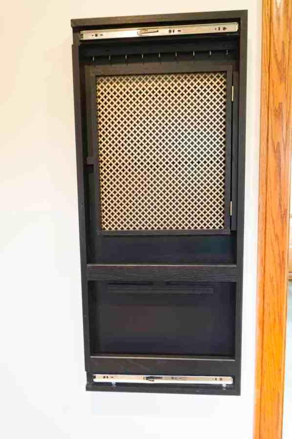 wall mounted jewelry storage cabinet
