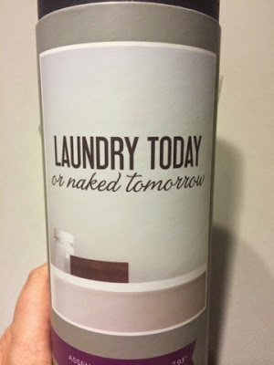 DIY Laundry Sign