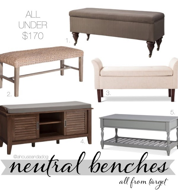 Neutral Benches