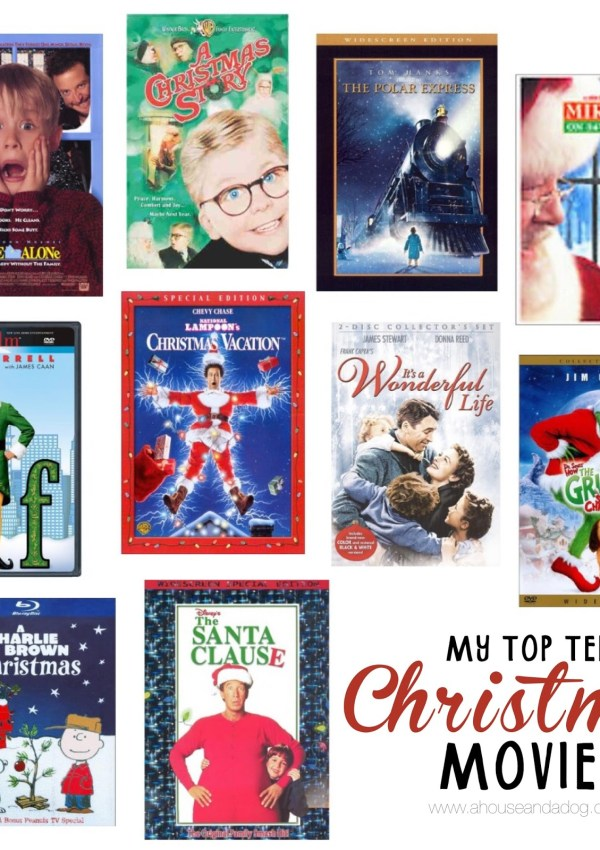Our Top Ten Favorite Christmas Movies