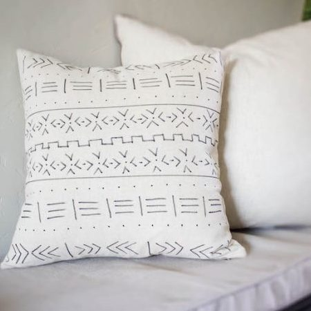 DIY Mudcloth Pillow