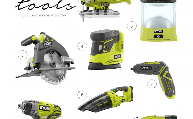 Favorite Ryobi Tools - top ten favorites for any project!