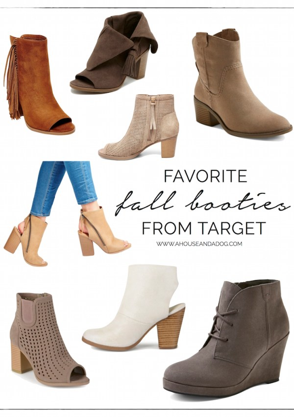 Favorite Fall Booties
