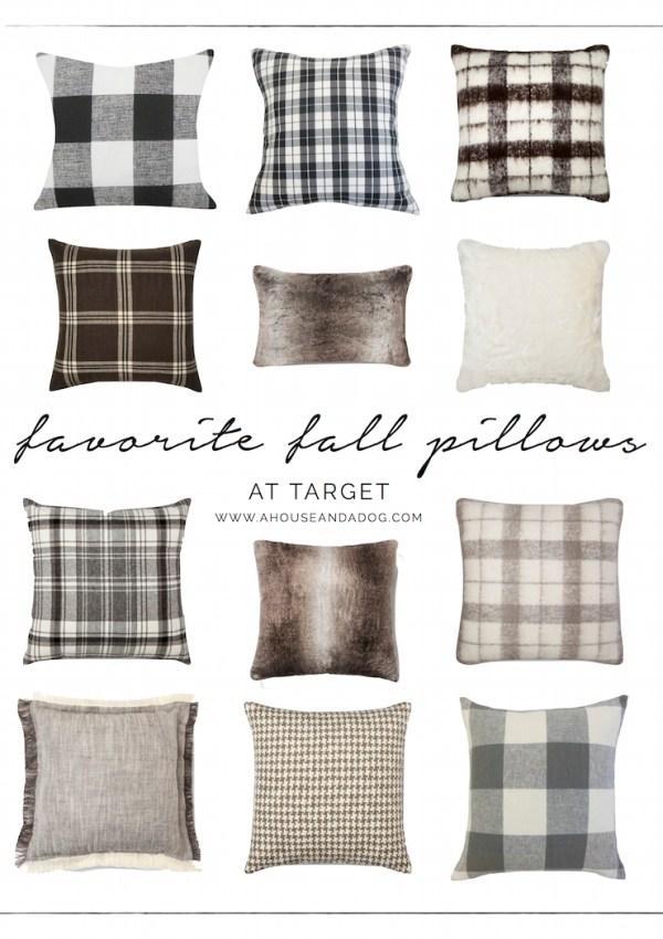 Favorite Fall Pillows – Pattern & Fur