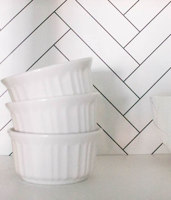Kitchen Cabinet Wallpaper – Quick + Easy Update