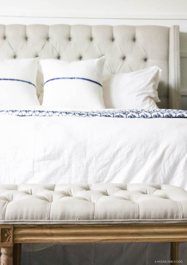 Blue & White Bedroom Reveal – ORC Week 6
