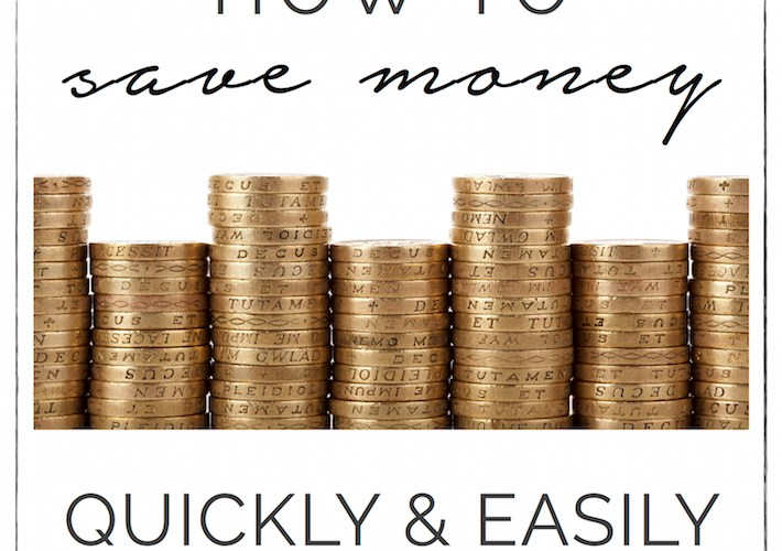 Save Money Quickly & Easily with a Few Simple Tips | designedsimple.com