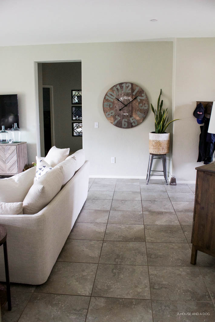 Living Room Progress - still more projects to complete but almost there! | designedsimple.com