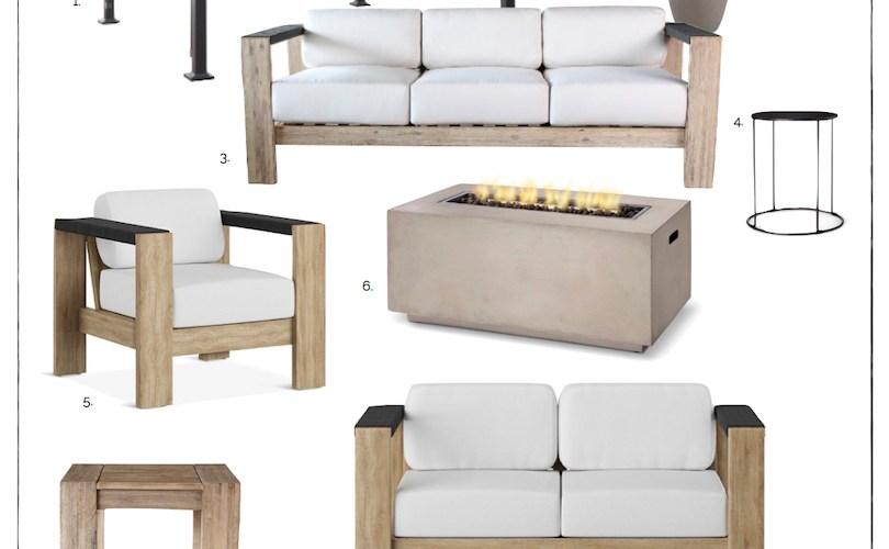 Modern Outdoor Furniture at Target | designedsimple.com