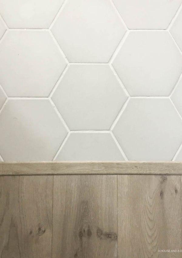 One Room Challenge – Master Bath: Week 4 – Floors & Doors