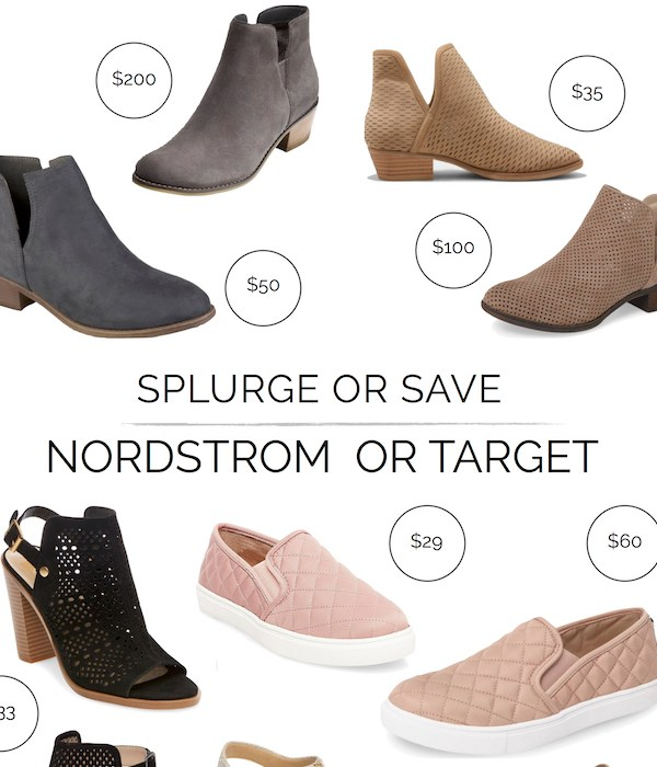 Popular Fall Shoes – Nordstrom or Target