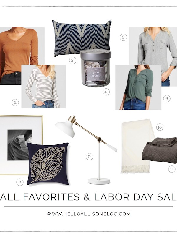 Fall Favorites & Labor Day Sale